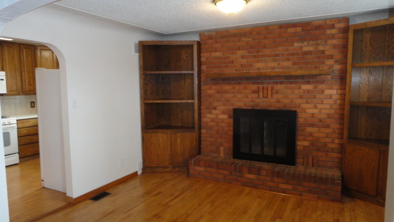 Dining Room/Fireplace in main house