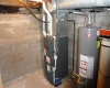Gas Furnace in older part of main house/Electric heat in newer section