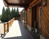 entrance to home/new front deck