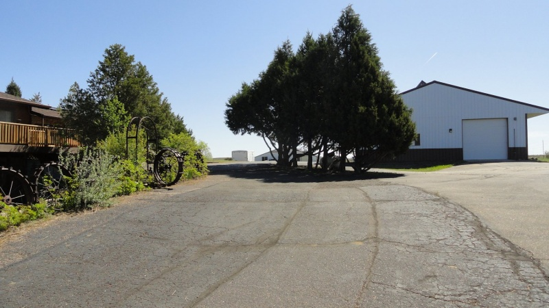 Paved Drive at Back of House