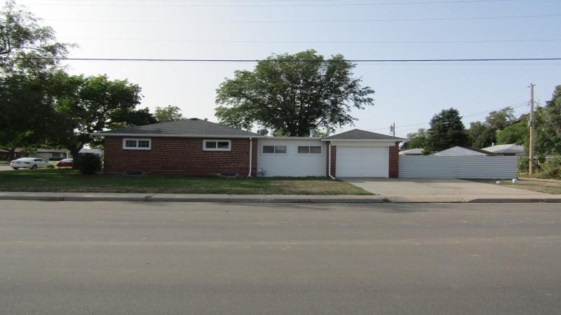North side of house/garage