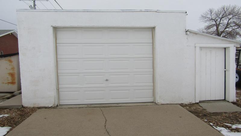 #2 Garage at alley
