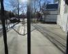 Large front  concrete porch