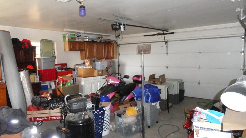 2 car attached garage interior